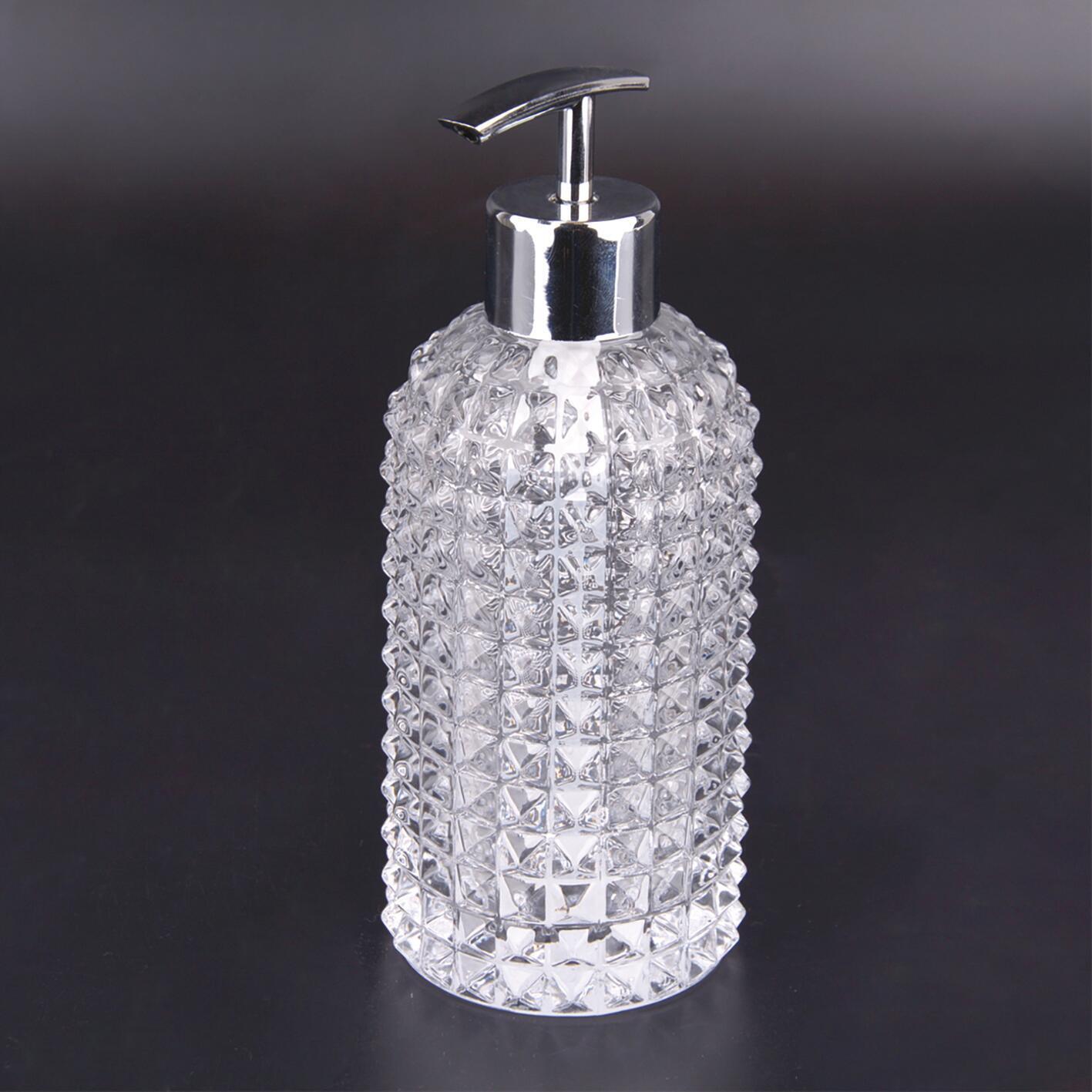 Dispenser sapone Crystal trasparente