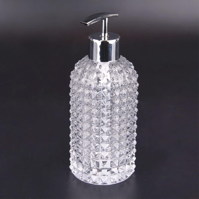 Dispenser sapone Crystal trasparente - 1